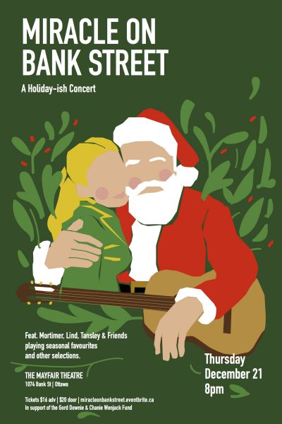 Miracle on Bank St.- A Holiday-ish Concert