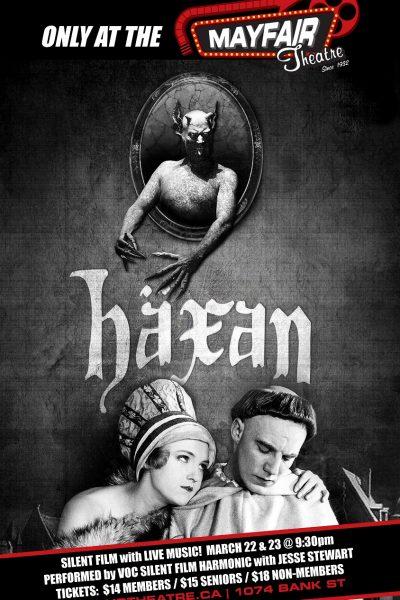 Häxan – Silent Film with Live Music!