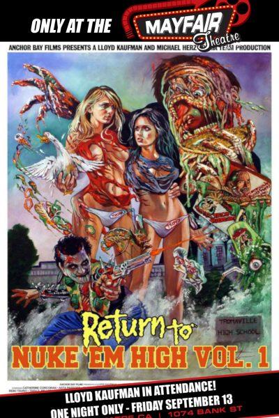 Return to Nuke 'Em High Volume 1